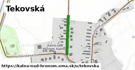 ilustrácia k Tekovská, Kalná nad Hronom - 214m