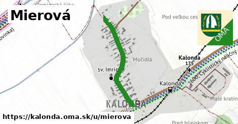 ilustrácia k Mierová, Kalonda - 588m