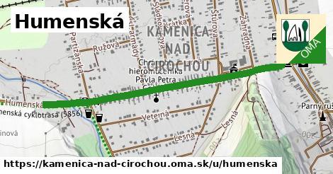 ilustrácia k Humenská, Kamenica nad Cirochou - 1,13km