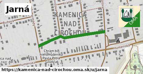 ilustrácia k Jarná, Kamenica nad Cirochou - 350m