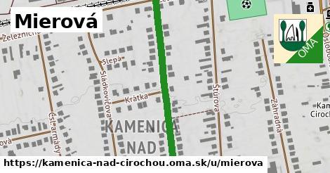 ilustrácia k Mierová, Kamenica nad Cirochou - 400m