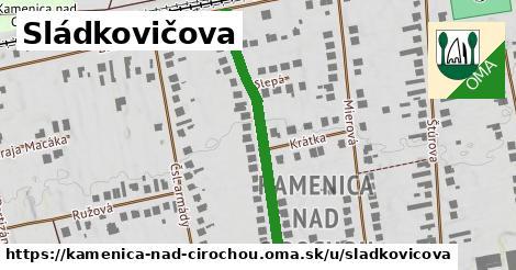 ilustrácia k Sládkovičova, Kamenica nad Cirochou - 395m
