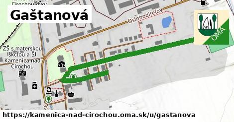 ilustrácia k Gaštanová, Kamenica nad Cirochou - 588m