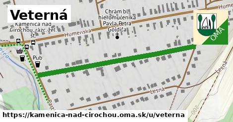 ilustrácia k Veterná, Kamenica nad Cirochou - 514m