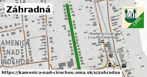 ilustrácia k Záhradná, Kamenica nad Cirochou - 329m