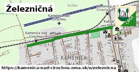 ilustrácia k Železničná, Kamenica nad Cirochou - 0,94km