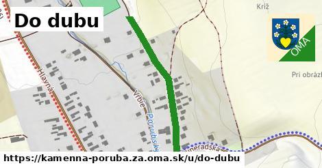 ilustrácia k Do Dubu, Kamenná Poruba, okres ZA - 363m