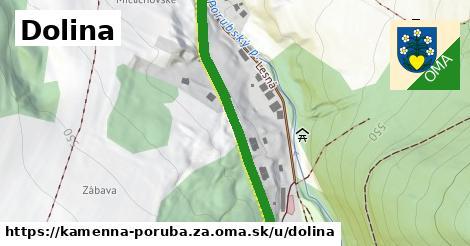 ilustrácia k Dolina, Kamenná Poruba, okres ZA - 444m