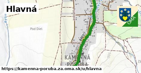 ilustrácia k Hlavná, Kamenná Poruba, okres ZA - 2,5km