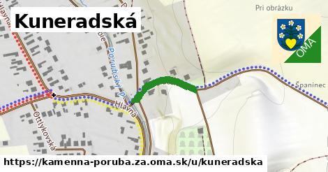ilustrácia k Kuneradská, Kamenná Poruba, okres ZA - 165m