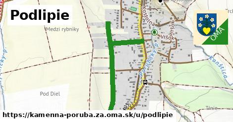 ilustrácia k Podlipie, Kamenná Poruba, okres ZA - 0,74km