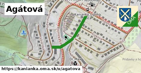 ilustrácia k Agátová, Kanianka - 253m