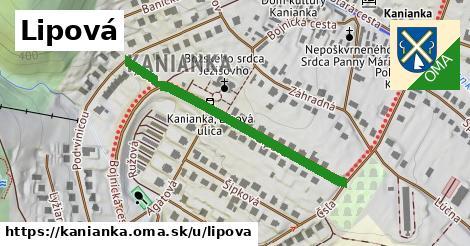 ilustrácia k Lipová, Kanianka - 400m