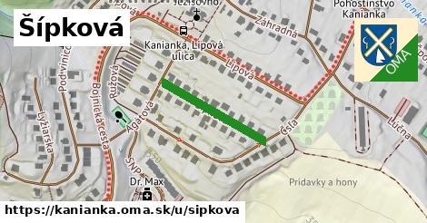 ilustrácia k Šípková, Kanianka - 208m
