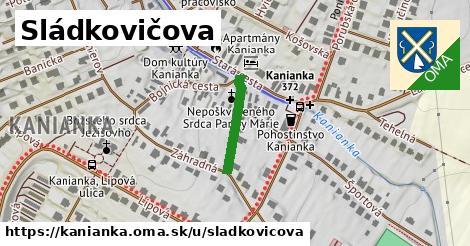 ilustrácia k Sládkovičova, Kanianka - 160m