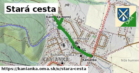 ilustrácia k Stará cesta, Kanianka - 0,83km