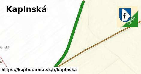 ilustrácia k Kaplnská, Kaplna - 399m