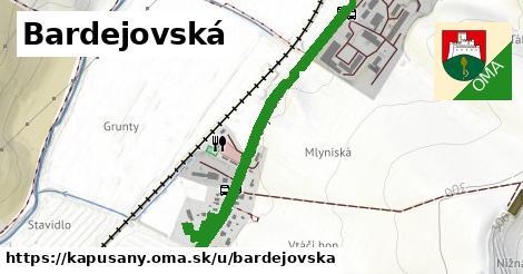 ilustrácia k Bardejovská, Kapušany - 0,95km