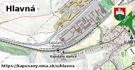 ilustračný obrázok k Hlavná, Kapušany