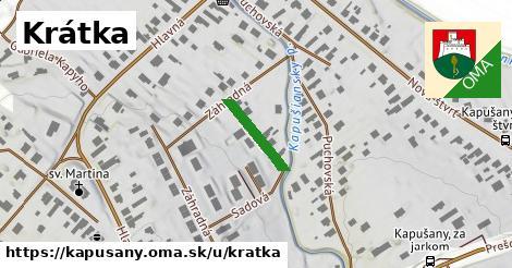 ilustrácia k Krátka, Kapušany - 133m