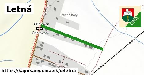 ilustrácia k Letná, Kapušany - 337m