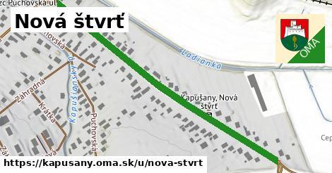ilustrácia k Nová štvrť, Kapušany - 604m