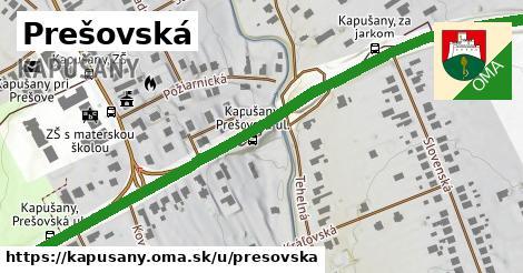 ilustrácia k Prešovská, Kapušany - 1,10km