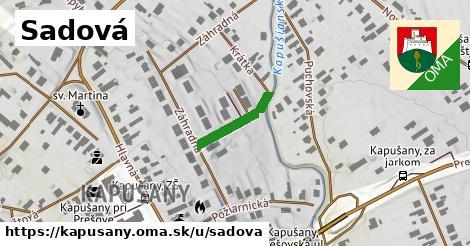 ilustračný obrázok k Sadová, Kapušany