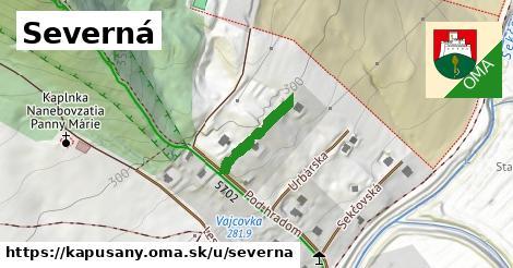 ilustrácia k Severná, Kapušany - 161m