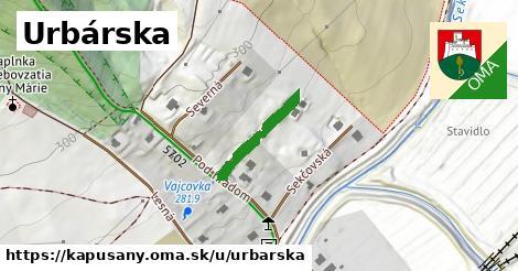ilustrácia k Urbárska, Kapušany - 169m