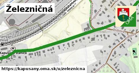 ilustrácia k Železničná, Kapušany - 0,75km
