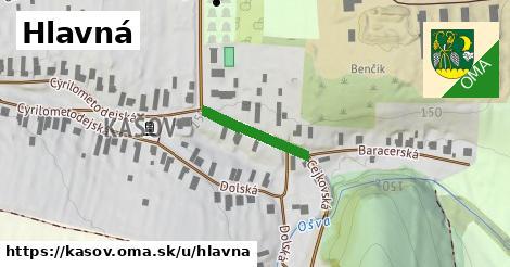 ilustrácia k Hlavná, Kašov - 171m