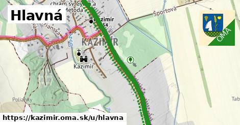 ilustrácia k Hlavná, Kazimír - 2,0km
