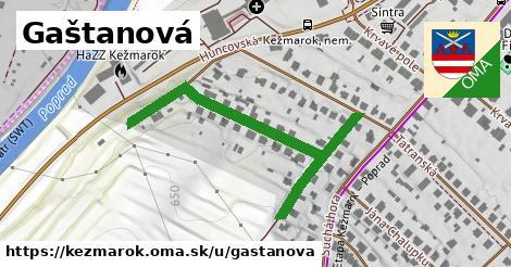 ilustrácia k Gaštanová, Kežmarok - 516m