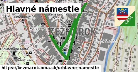 ilustrácia k Hlavné námestie, Kežmarok - 670m
