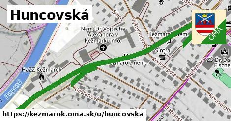ilustrácia k Huncovská, Kežmarok - 0,92km