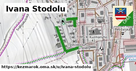 ilustrácia k Ivana Stodolu, Kežmarok - 265m