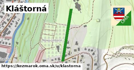 ilustrácia k Kláštorná, Kežmarok - 290m