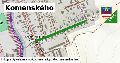 ilustrácia k Komenského, Kežmarok - 332m