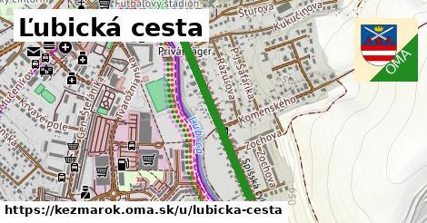 ilustračný obrázok k Ľubická cesta, Kežmarok