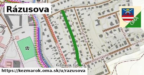 ilustrácia k Rázusova, Kežmarok - 302m