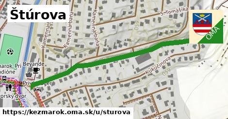 ilustrácia k Štúrova, Kežmarok - 570m