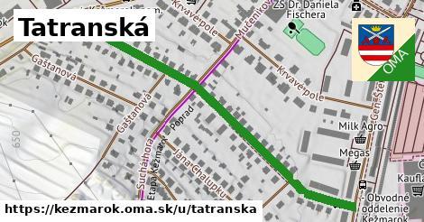 ilustrácia k Tatranská, Kežmarok - 608m