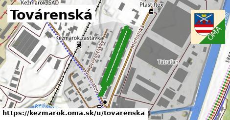 ilustrácia k Továrenská, Kežmarok - 450m