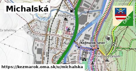 ilustrácia k Michalská, Kežmarok - 1,80km