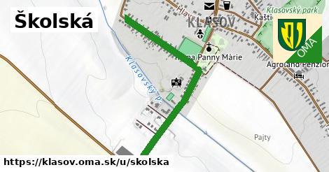 ilustrácia k Školská, Klasov - 628m