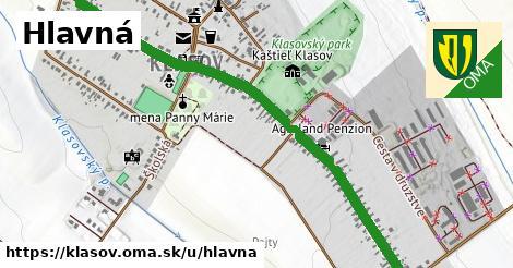 ilustrácia k Hlavná, Klasov - 1,79km