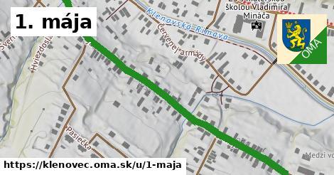 ilustrácia k 1. mája, Klenovec - 0,74km