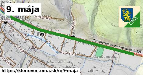 ilustrácia k 9. mája, Klenovec - 0,95km