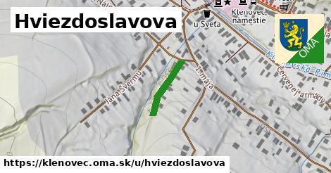 ilustrácia k Hviezdoslavova, Klenovec - 140m